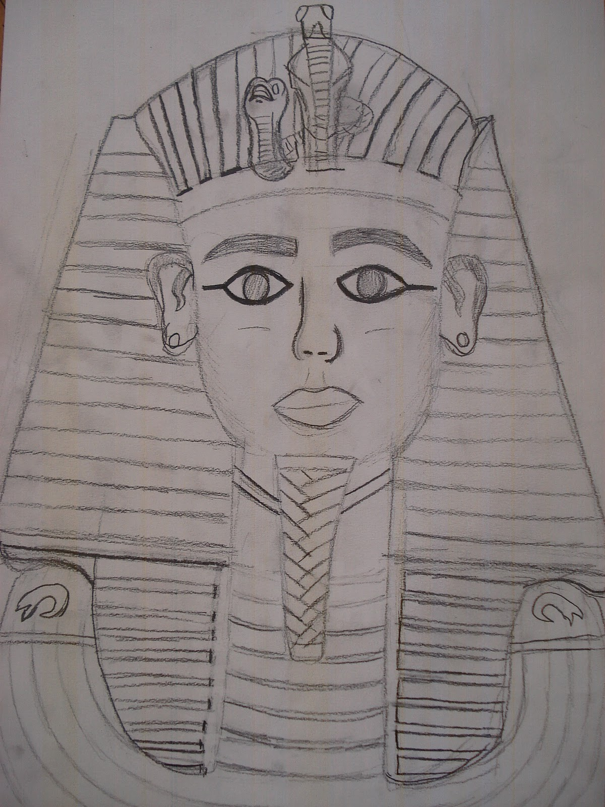 A Faithful Attempt King Tut Egyptian Portrait