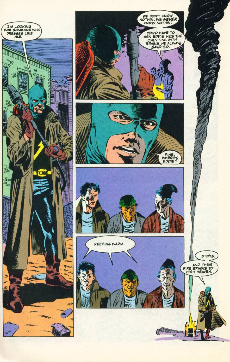 Read online Justice (1986) comic -  Issue #22 - 15