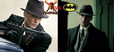 Johnny Depp vs. Christian Bale - Public Enemies