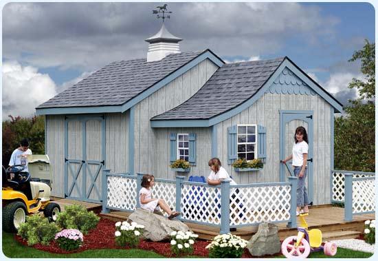Casas de madera prefabricadas tipos de cobertizos de madera for Cobertizos de madera prefabricados