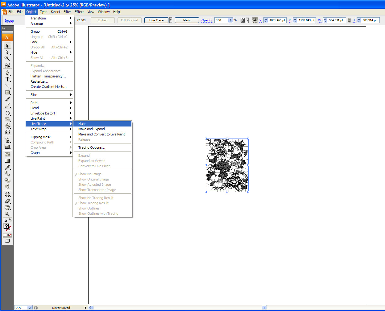 Humbug Graphics Galore: Tracing Images in Illustrator