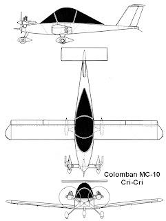 Cri Cri World Smallest Twin Engine Aircraft: Cri cri 3