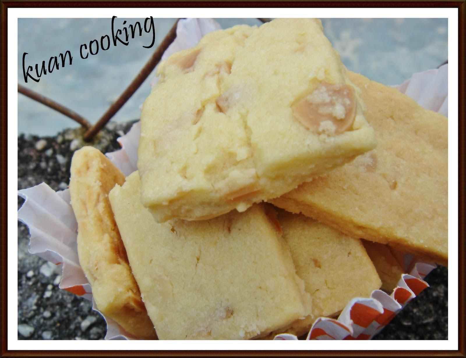 kuan cooking: 杏仁牛油餅~