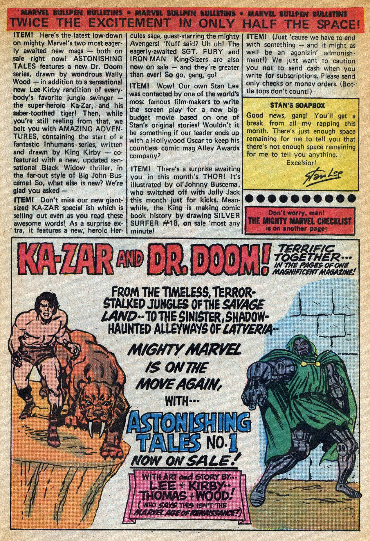 Read online Amazing Adventures (1970) comic -  Issue #1 - 33
