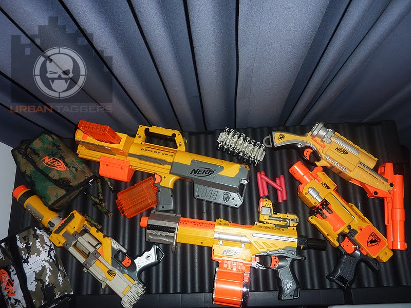 Urban Taggers Review New Nerf Round Up Favourite
