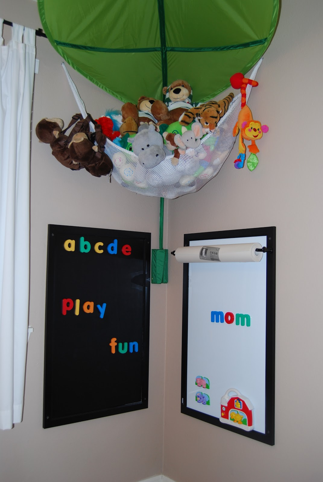 Mommy Brained Wall Activity Center