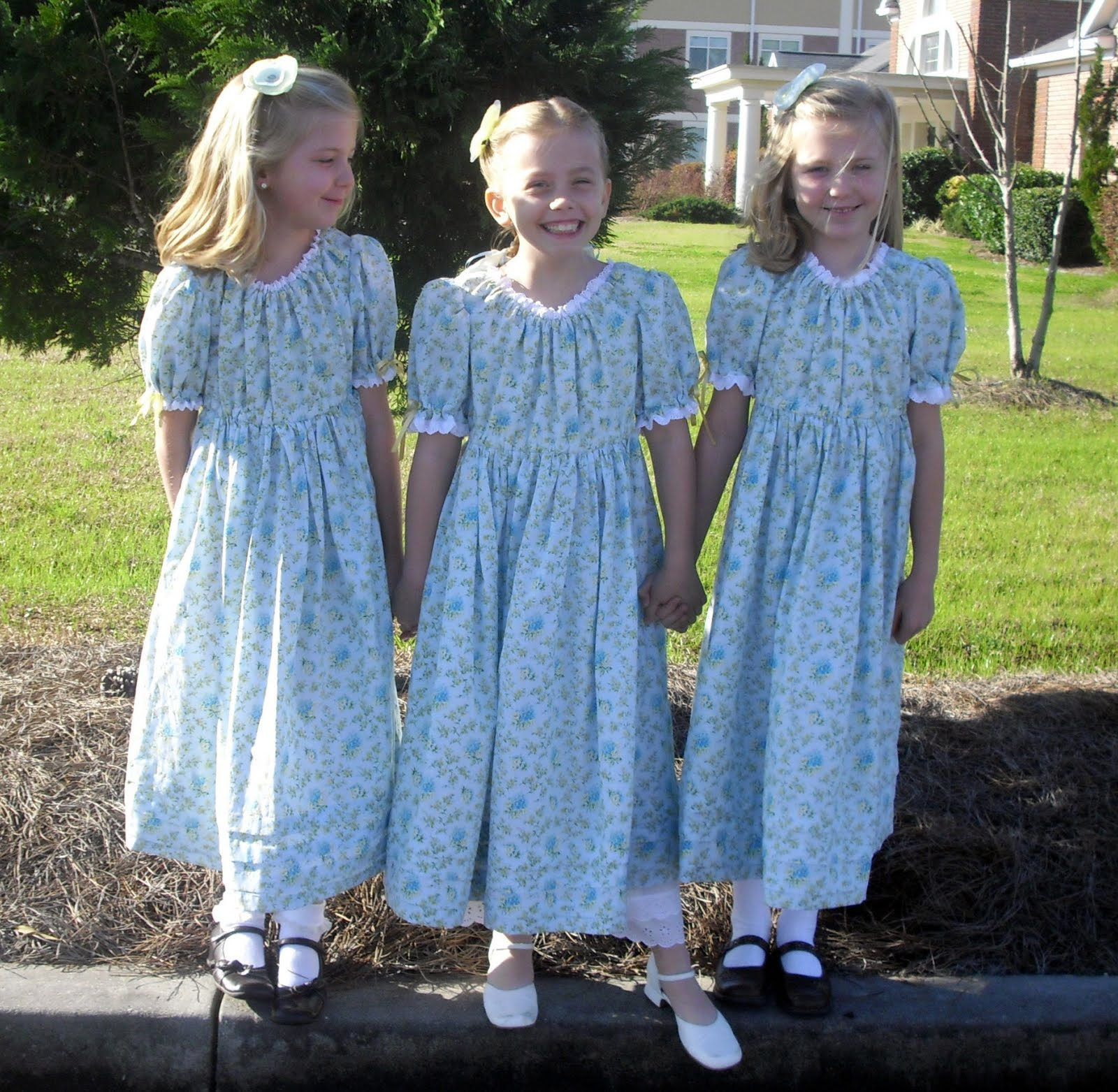 Forget Me Not Dresses Little Girls On The Prairie