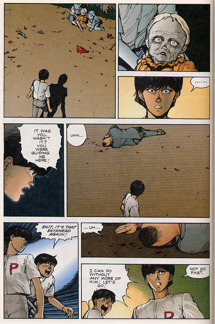 Read online Akira comic -  Issue #8 - 64
