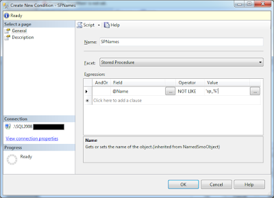 Policy-Based Management in SQL Server - Security-Related article on SQLNetHub