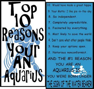 What do aquarius men like in women