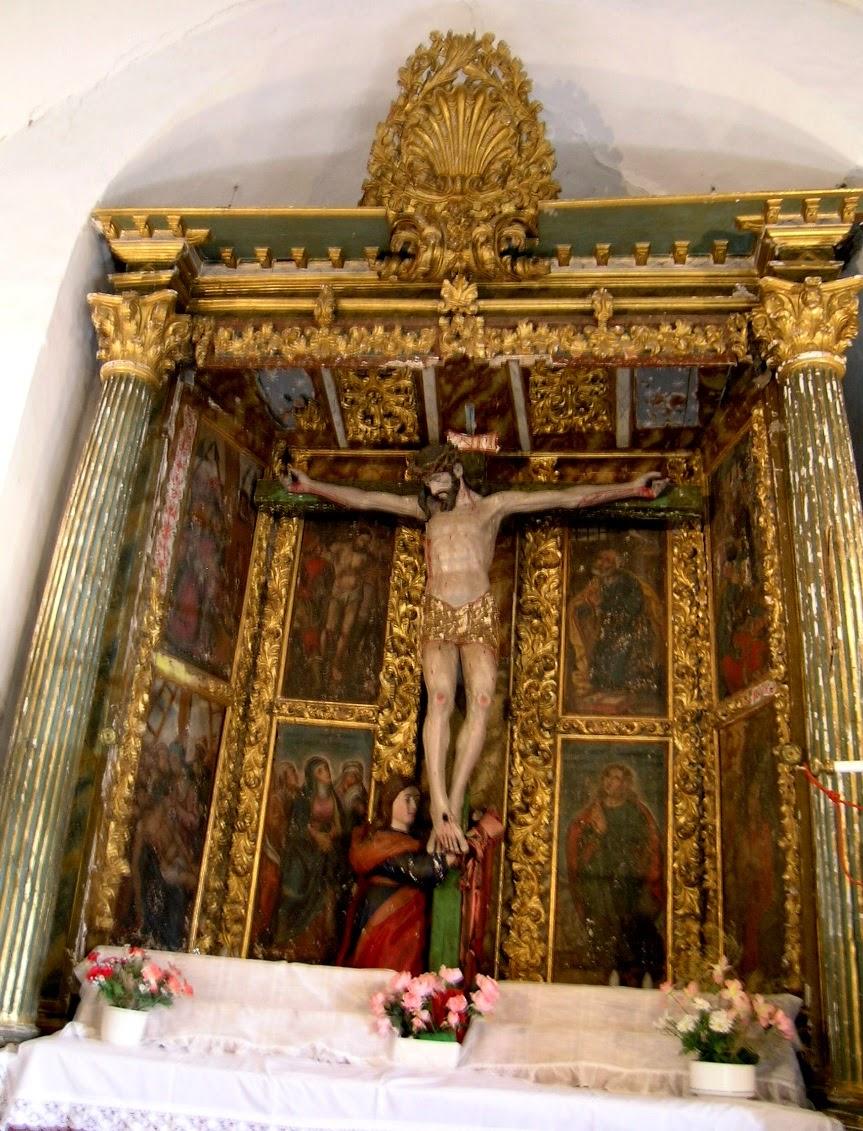 Pinceladas de Historia Bejarana: Obras en la ermita de Navacarros