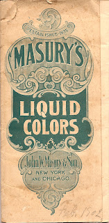 Cover of Masury collection of historic paint colors
