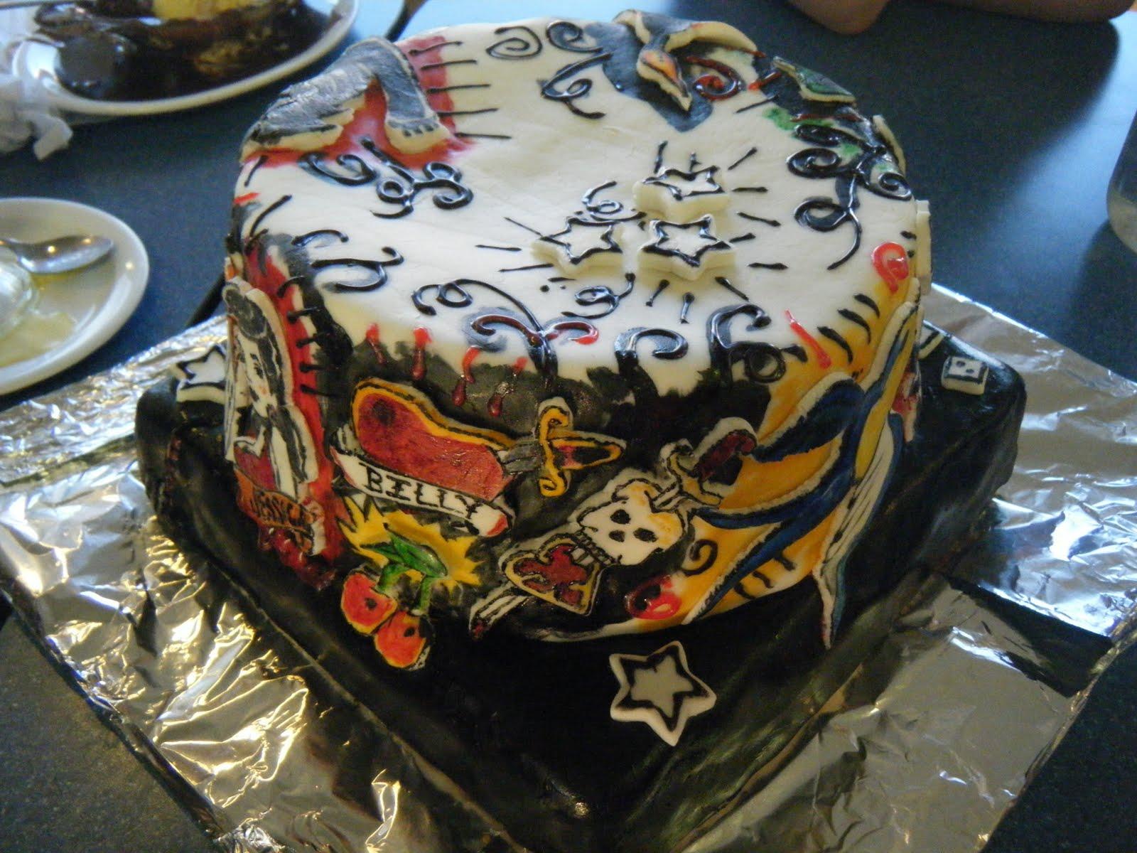 Circus Cakes: The Tattoo Cake