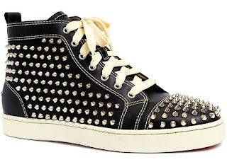 Christian Louboutin Mens Studded Shoes