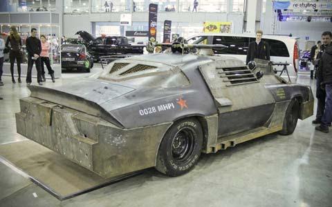 Death Race inspired Chevrolet Camaro   Super Cars