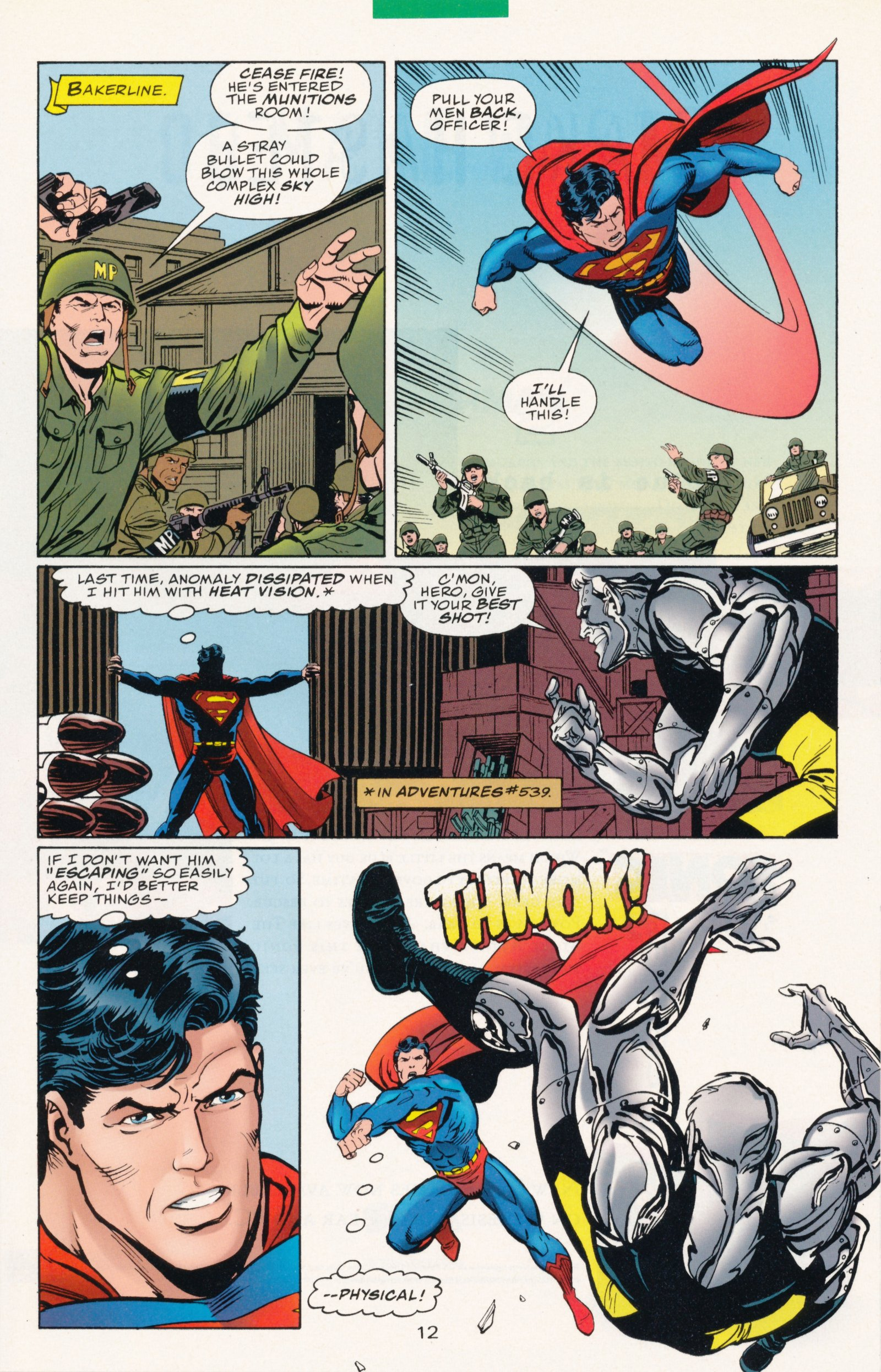 Read online Action Comics (1938) comic -  Issue #730 - 16