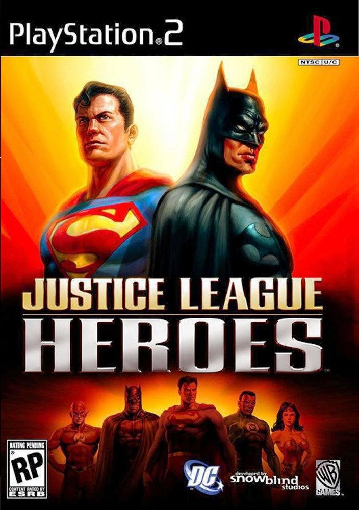 Baixar Justice League Heroes: PS2