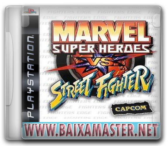 Marvel Super Heroes Vs Street Fighter ROM Download for PSX ...