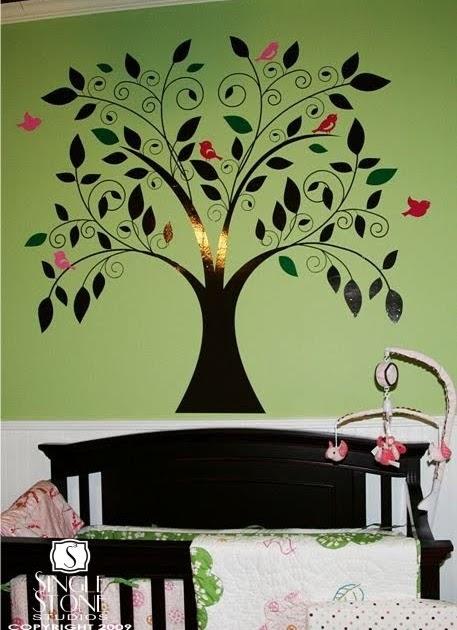 Wall Decor: Whimsical Tree Wall Decal