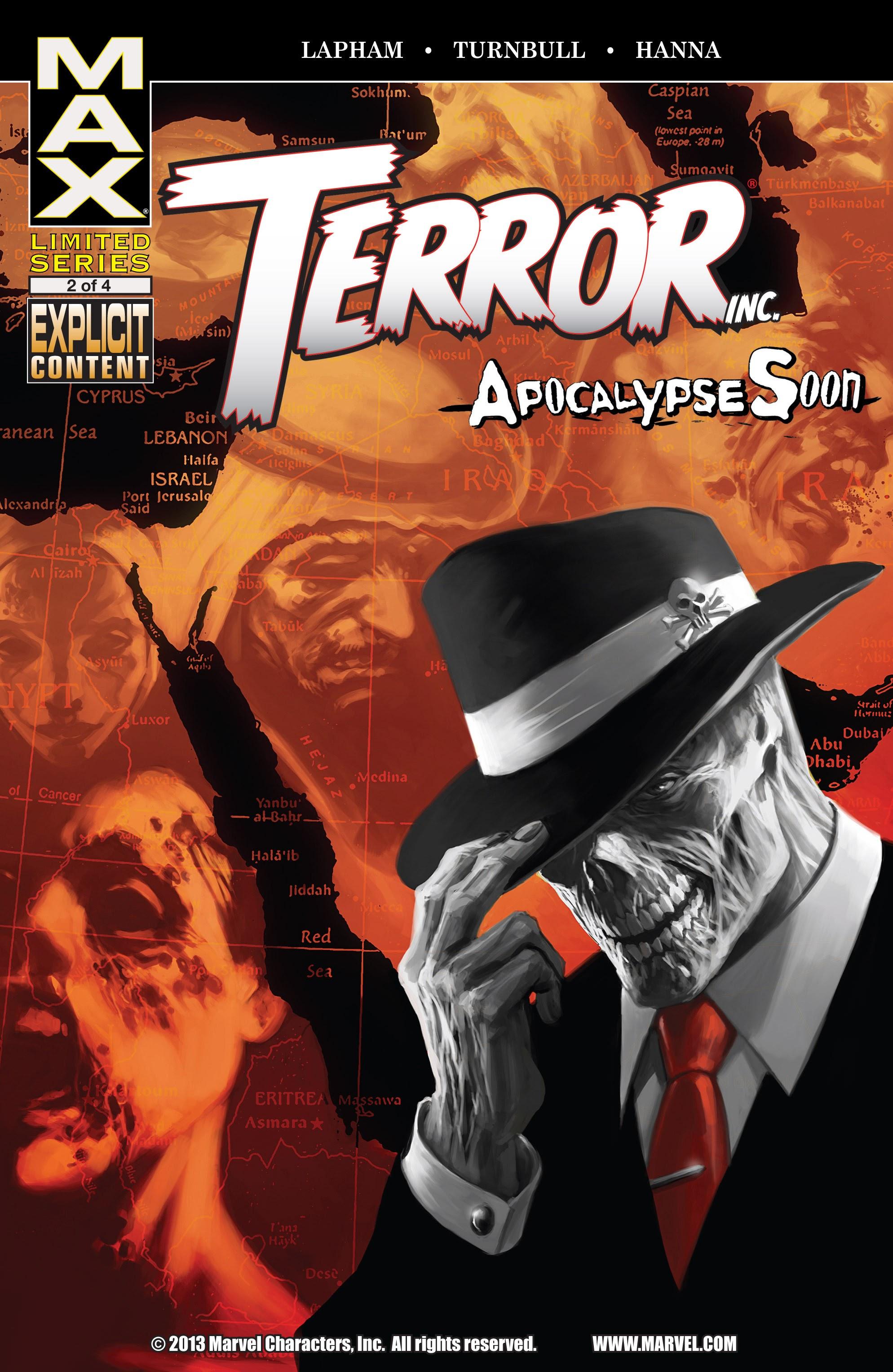 Terror, Inc. - Apocalypse Soon 2 Page 1