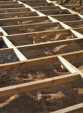 schema construction terrasse bois. Black Bedroom Furniture Sets. Home Design Ideas