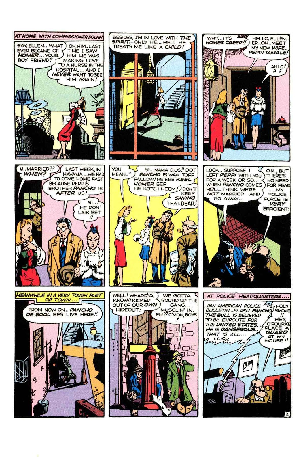 Read online Will Eisner's The Spirit Archives comic -  Issue # TPB 2 (Part 1) - 18