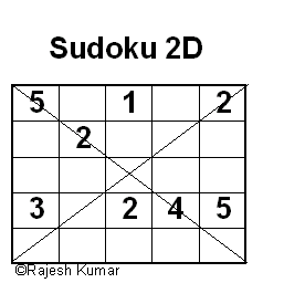 Logical Puzzle Series: Sudoku 2D