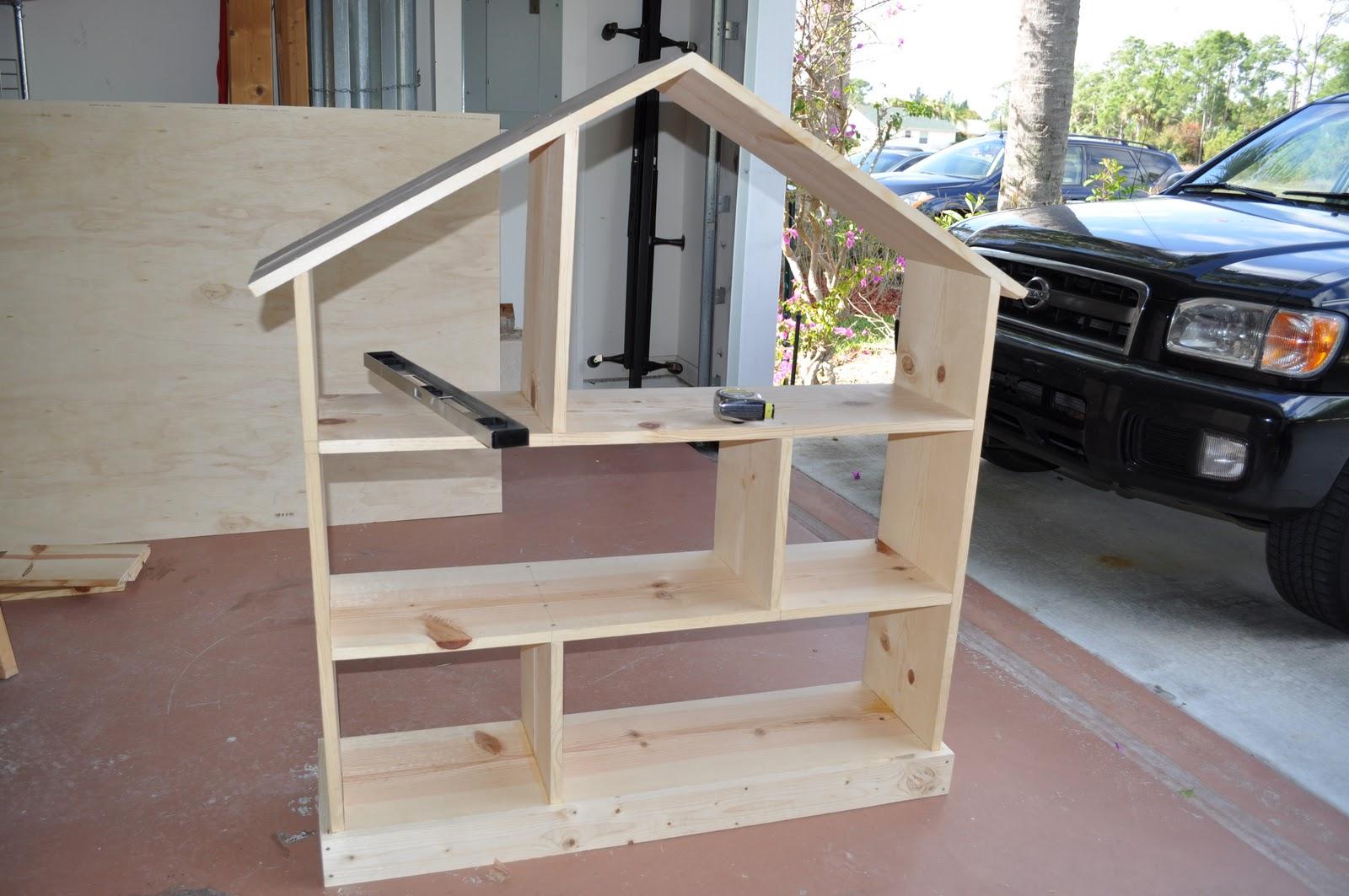Dollhouse Bookcase Diy: A Sweet Life: DIY Dollhouse Bookcase
