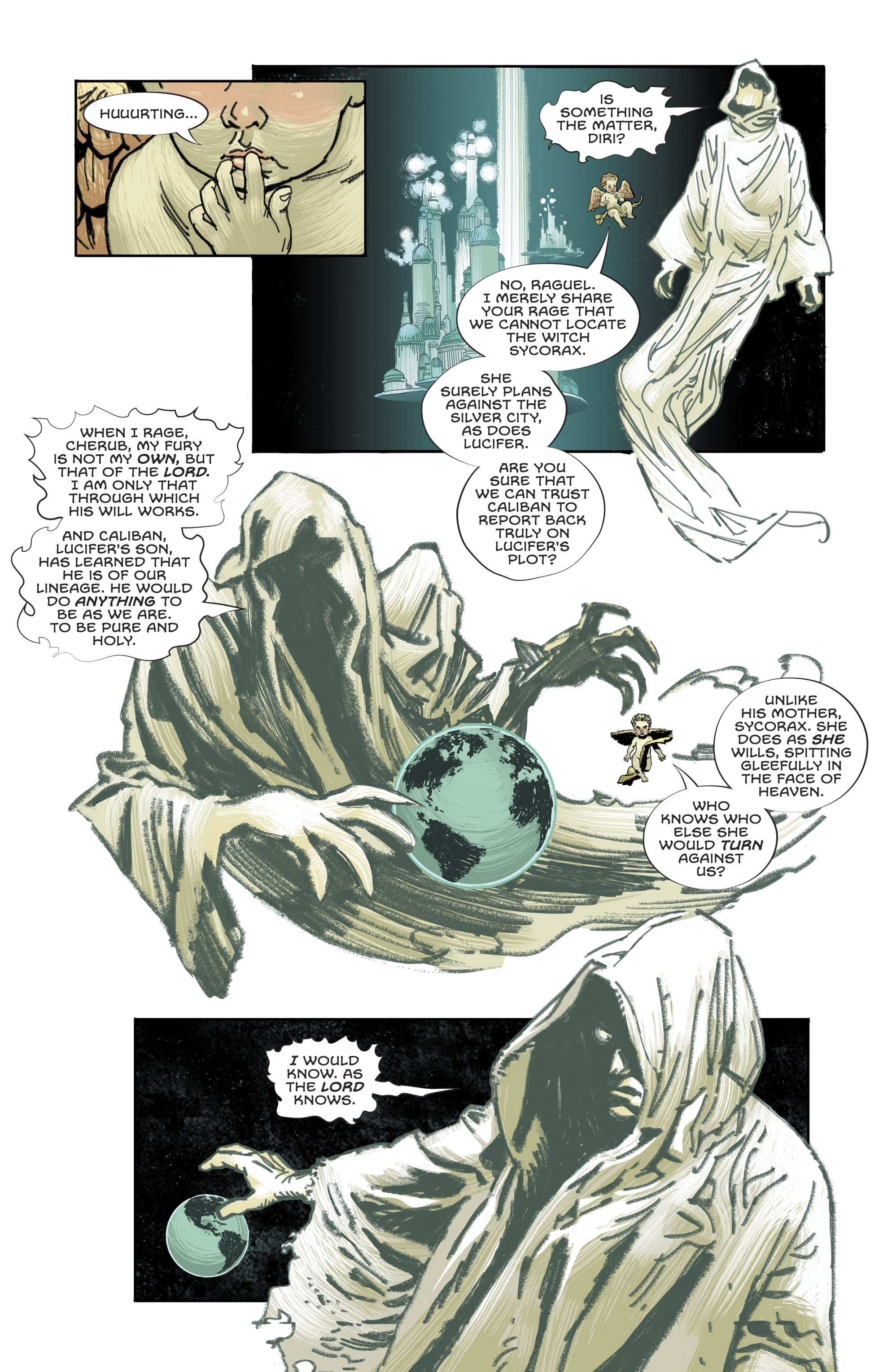 Read online Lucifer (2018) comic -  Issue #10 - 10