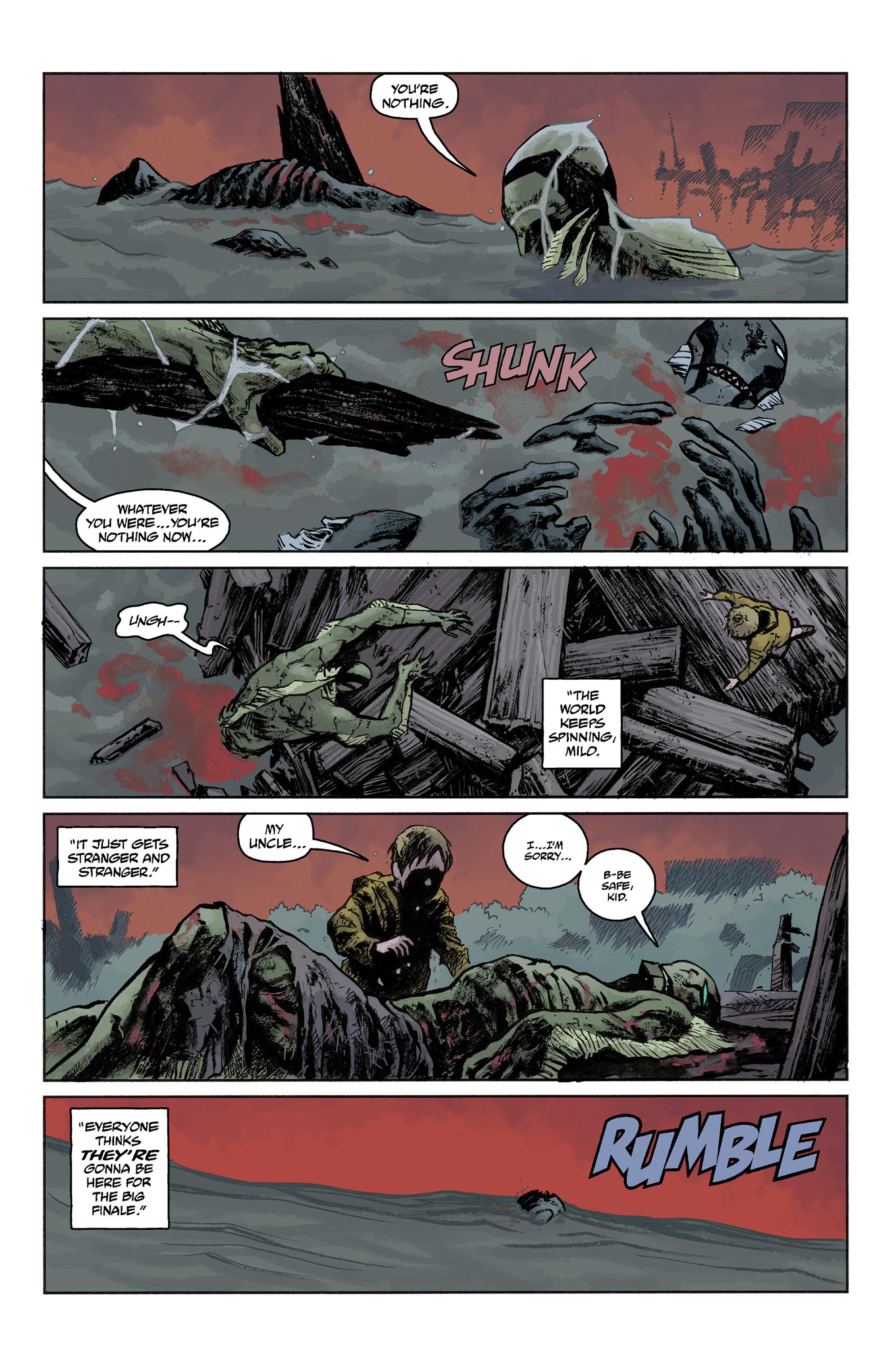 Read online Abe Sapien comic -  Issue #36 - 22