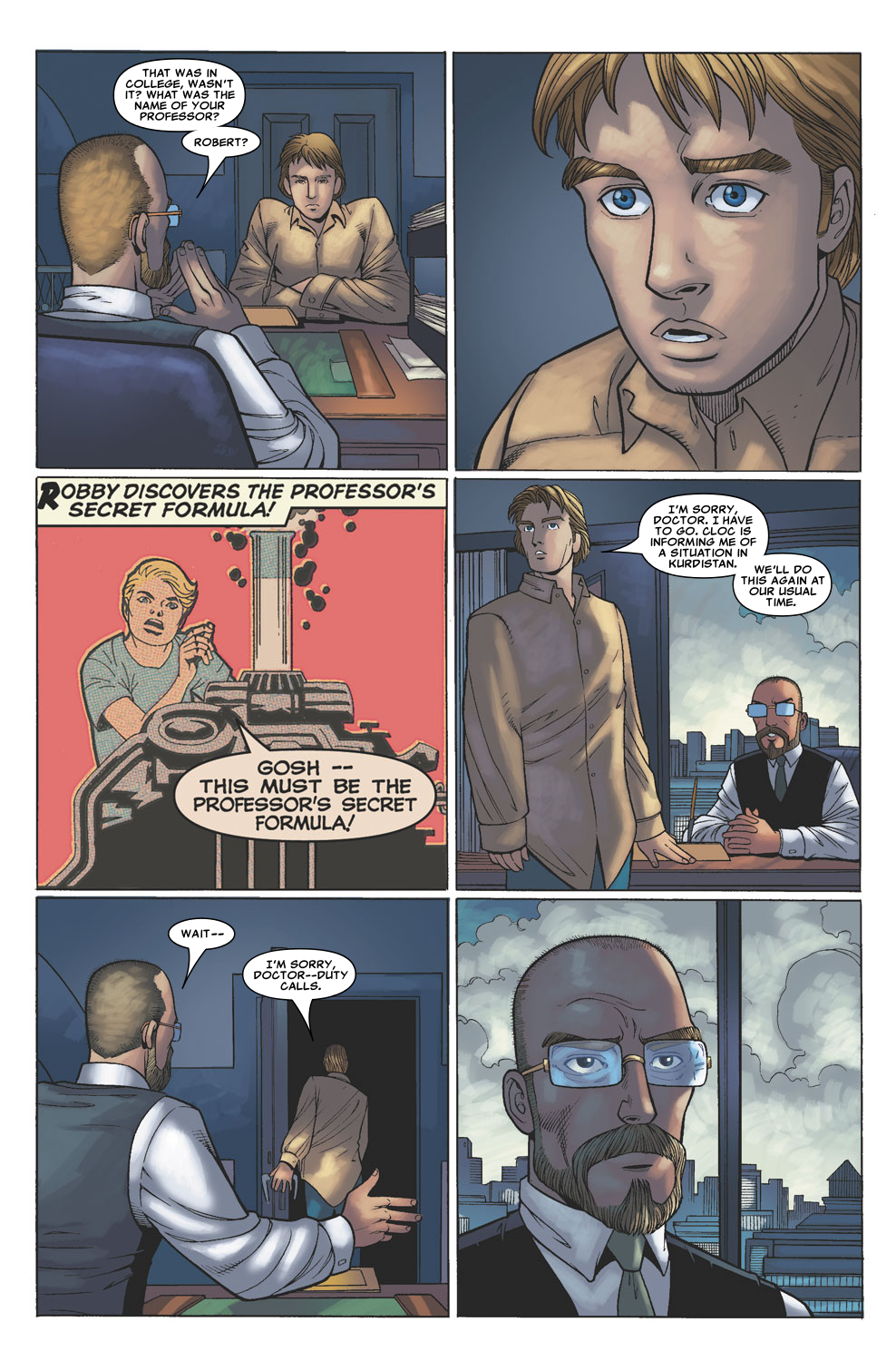 Read online Sentry (2006) comic -  Issue #4 - 19