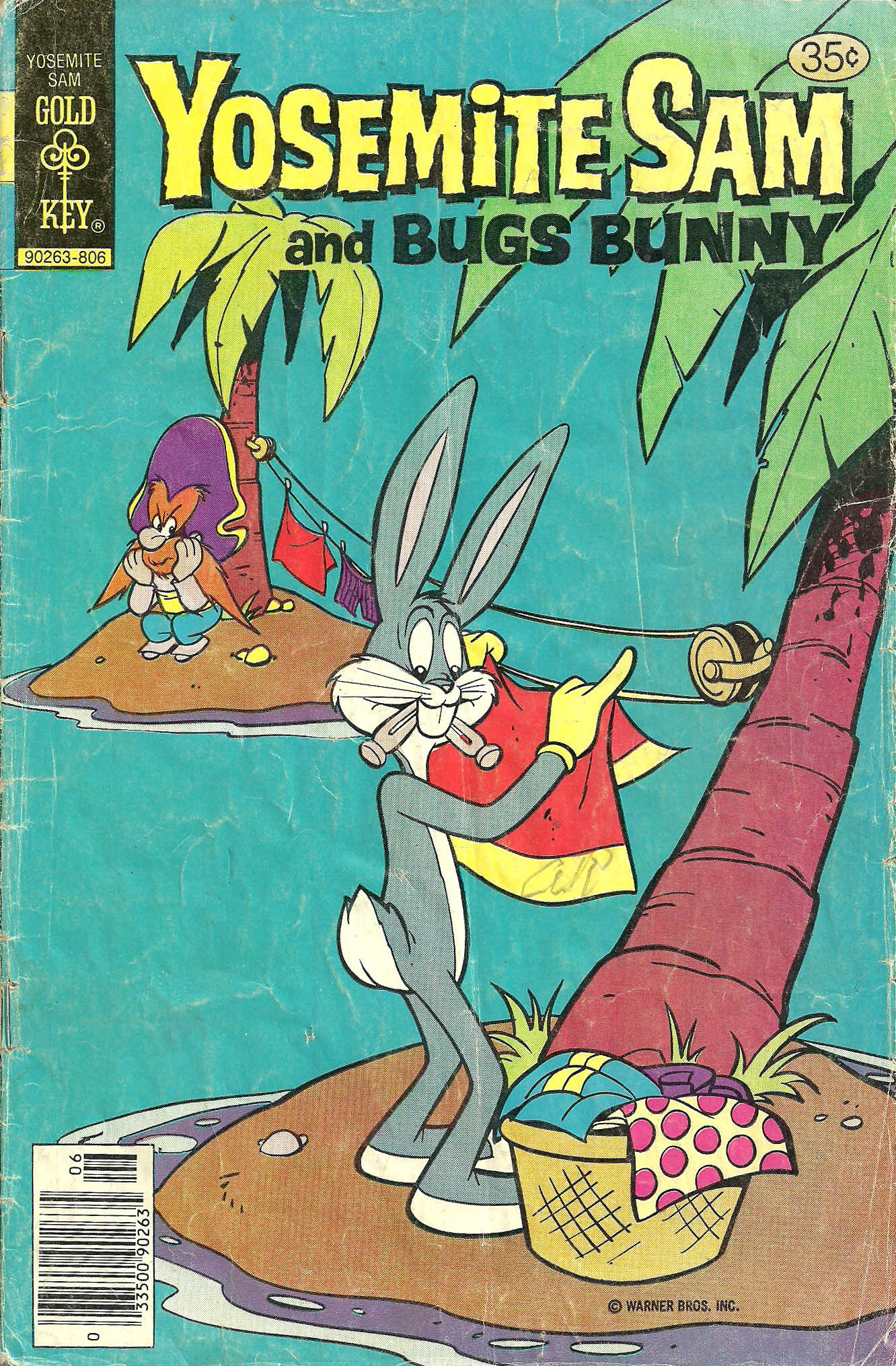Yosemite Sam and Bugs Bunny 52 Page 1