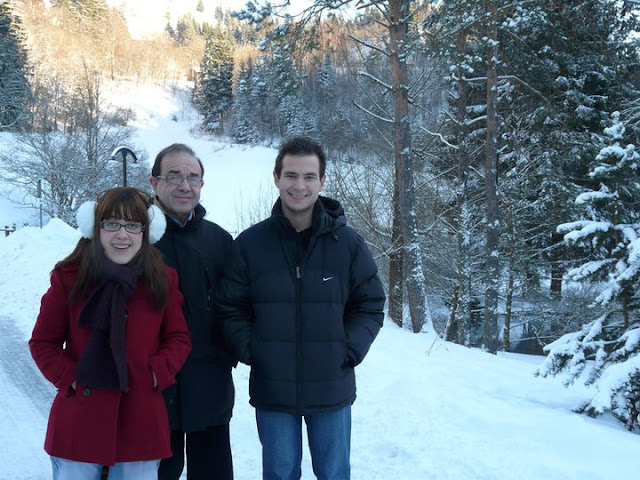 La forêt Noire à Noël