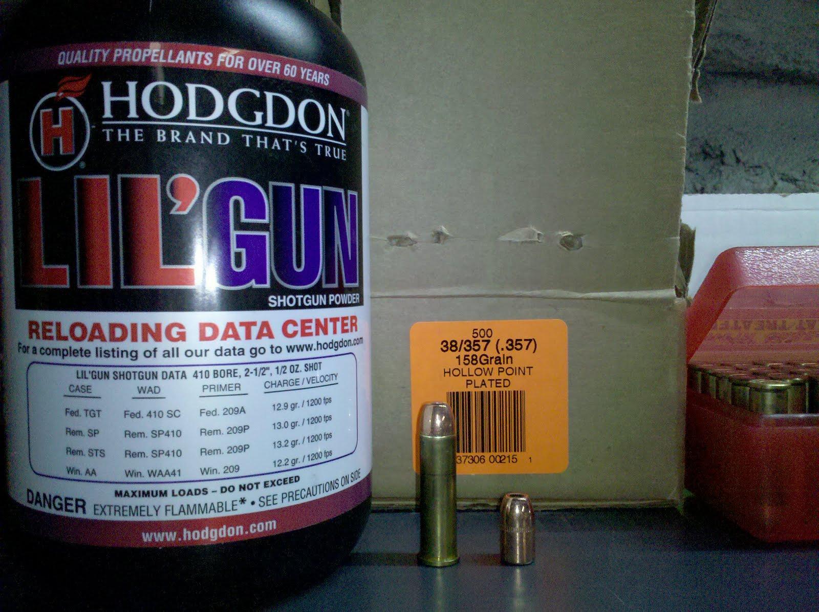 Guns, Loads, and a Nerd:  357 Magnum Handloading (158 grain plated