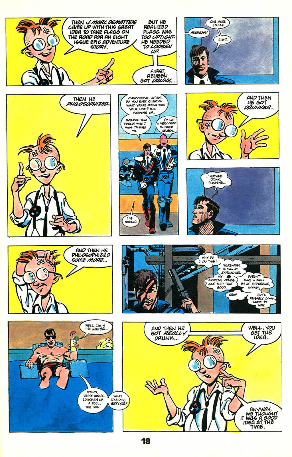 Read online American Flagg! comic -  Issue #46 - 25