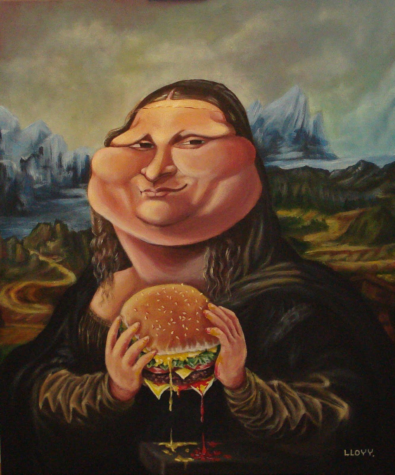 >>>Ilustraciones Satíricas..>>> - Página 3 Mona+Lisa