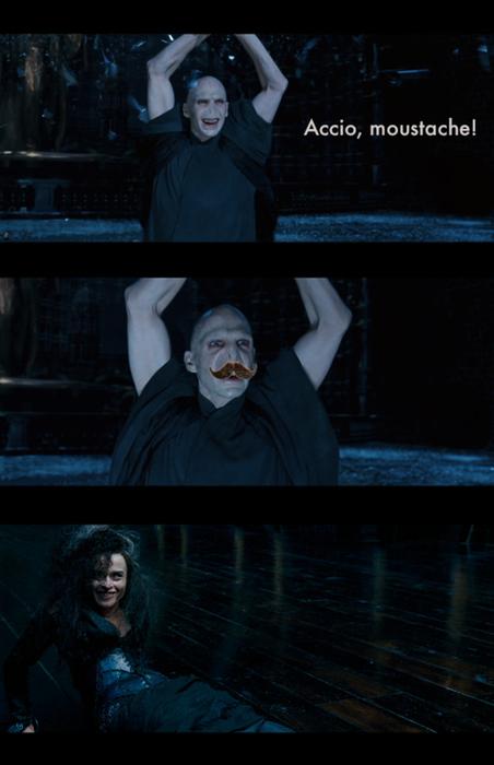 Mustache Voldemort 4