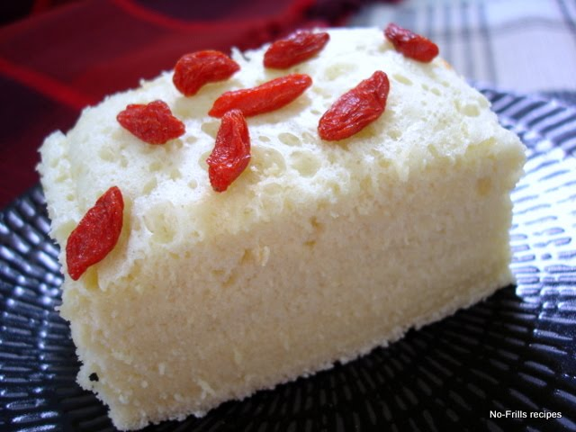 Traditional Steamed Sponge Cake