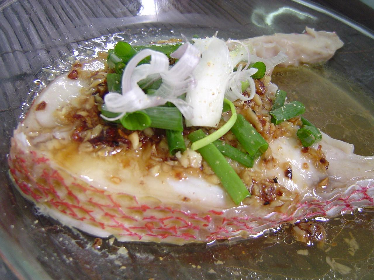 Steamed fish fillet for Fish fillet recipe