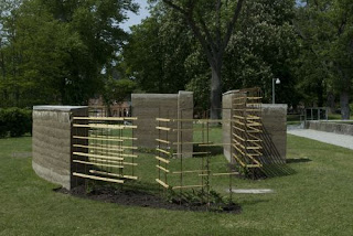A Life Designing: Creating Walls using Rammed Earth