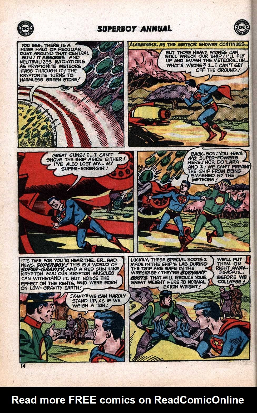 Superboy (1949) issue Annual 1 - Page 16