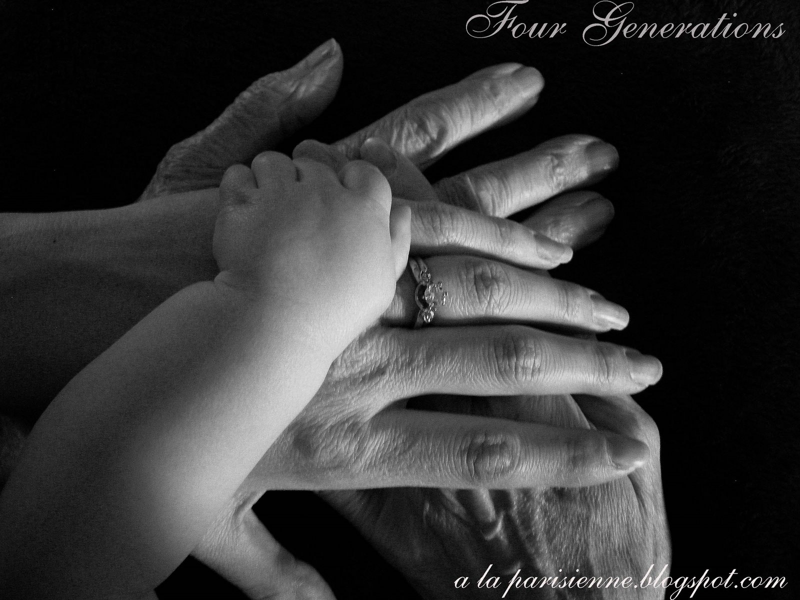 Four Generations-Honoring Grandma