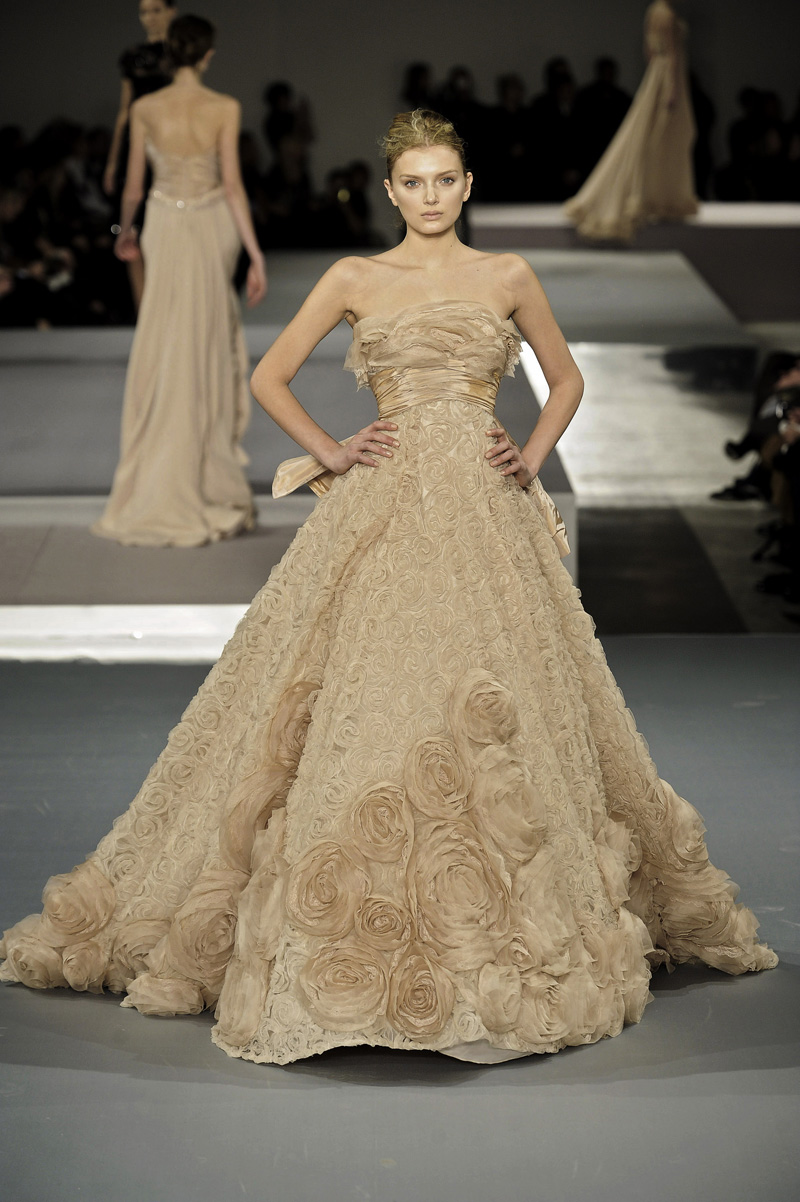 French Couture Dresses