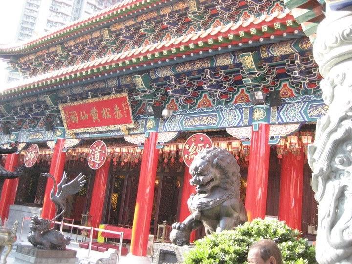 香港宗教建築 - 佛教與道教: 黃大仙祠 - 劉嘉宜