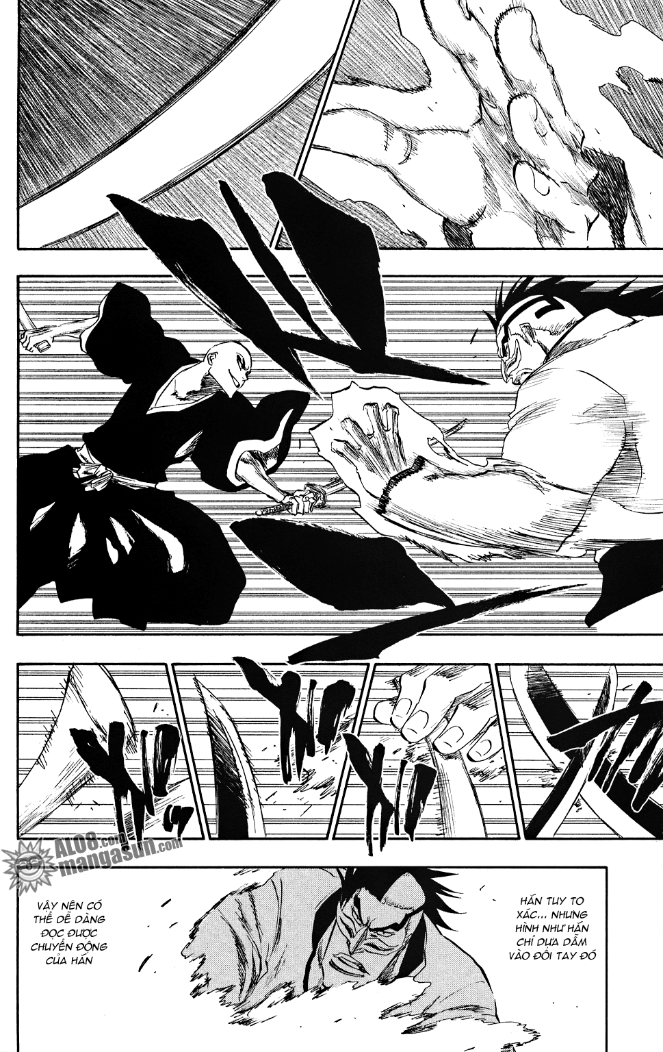 Bleach chapter 203 trang 10