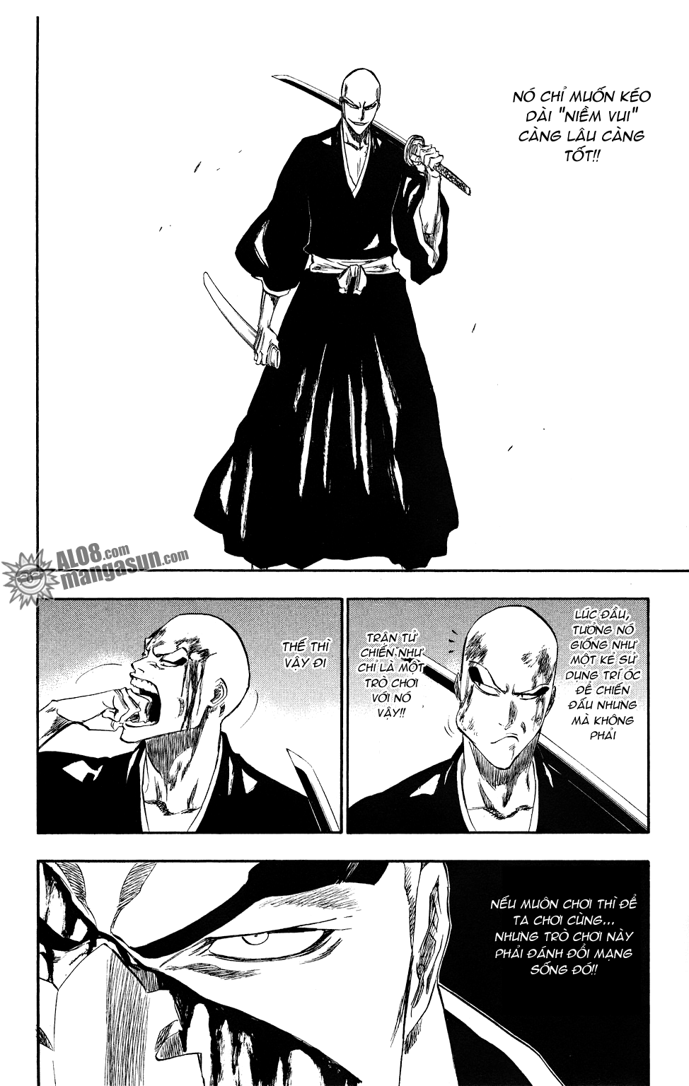 Bleach chapter 203 trang 16