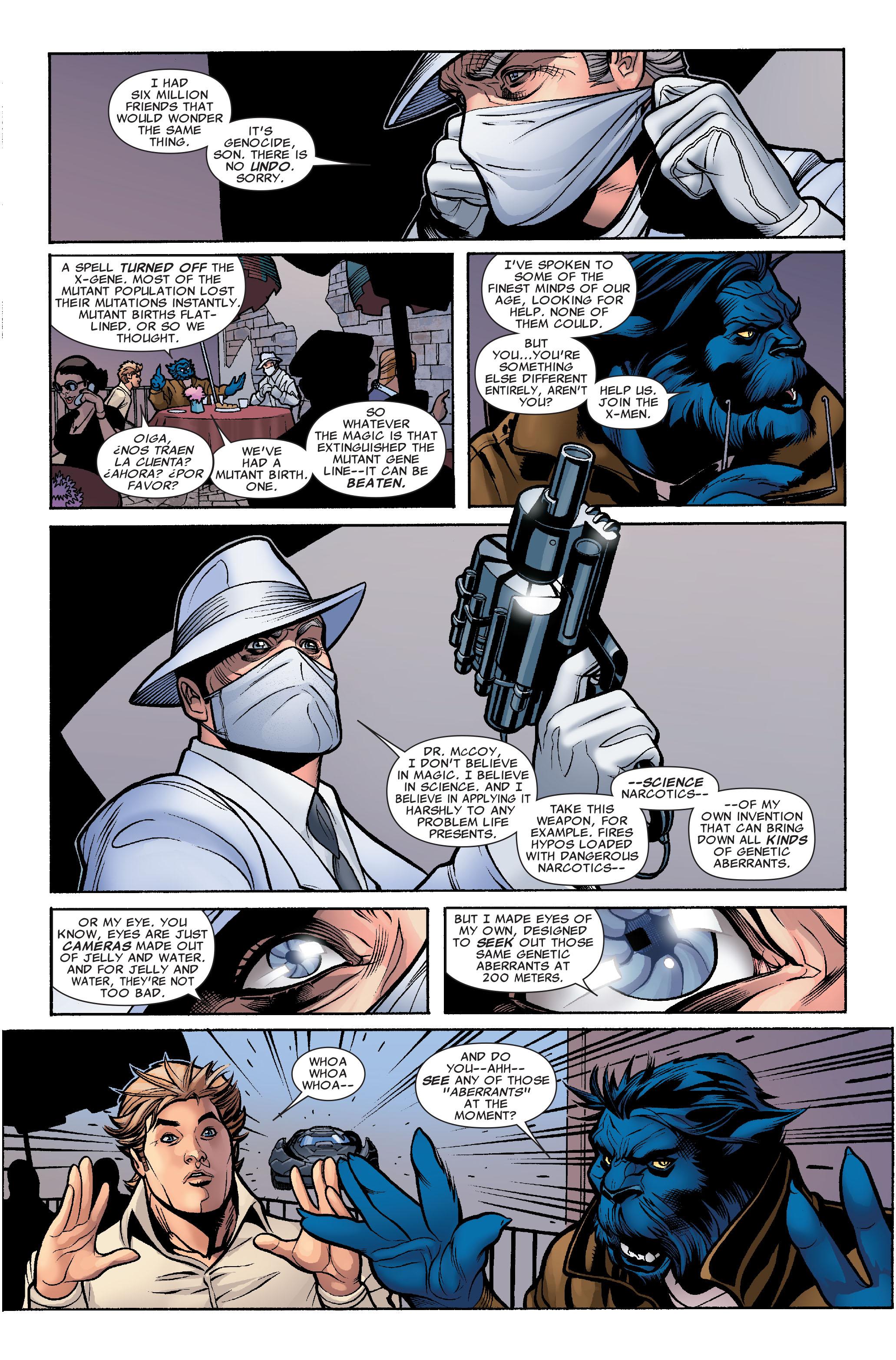 Read online Uncanny X-Men (1963) comic -  Issue #504 - 17