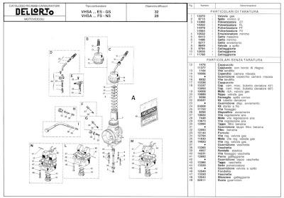 Carburetor Dellorto Outer 30 Pilot Jet Vhsb Rotax Max