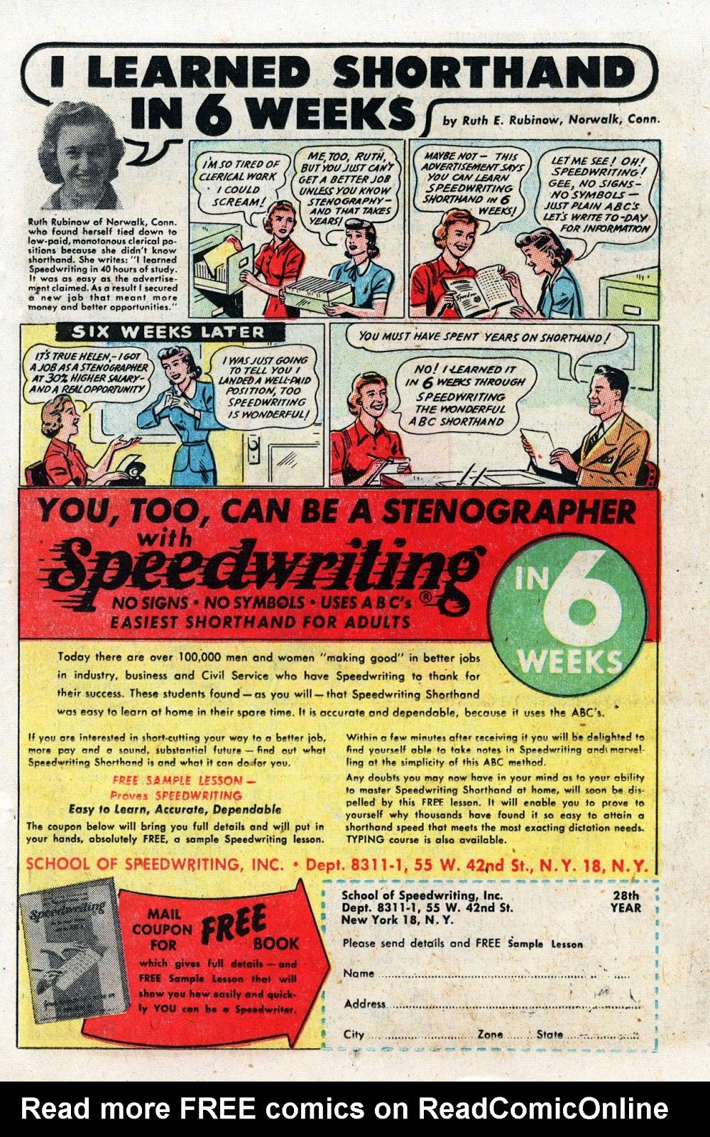 Love Romances (1949) issue 19 - Page 17