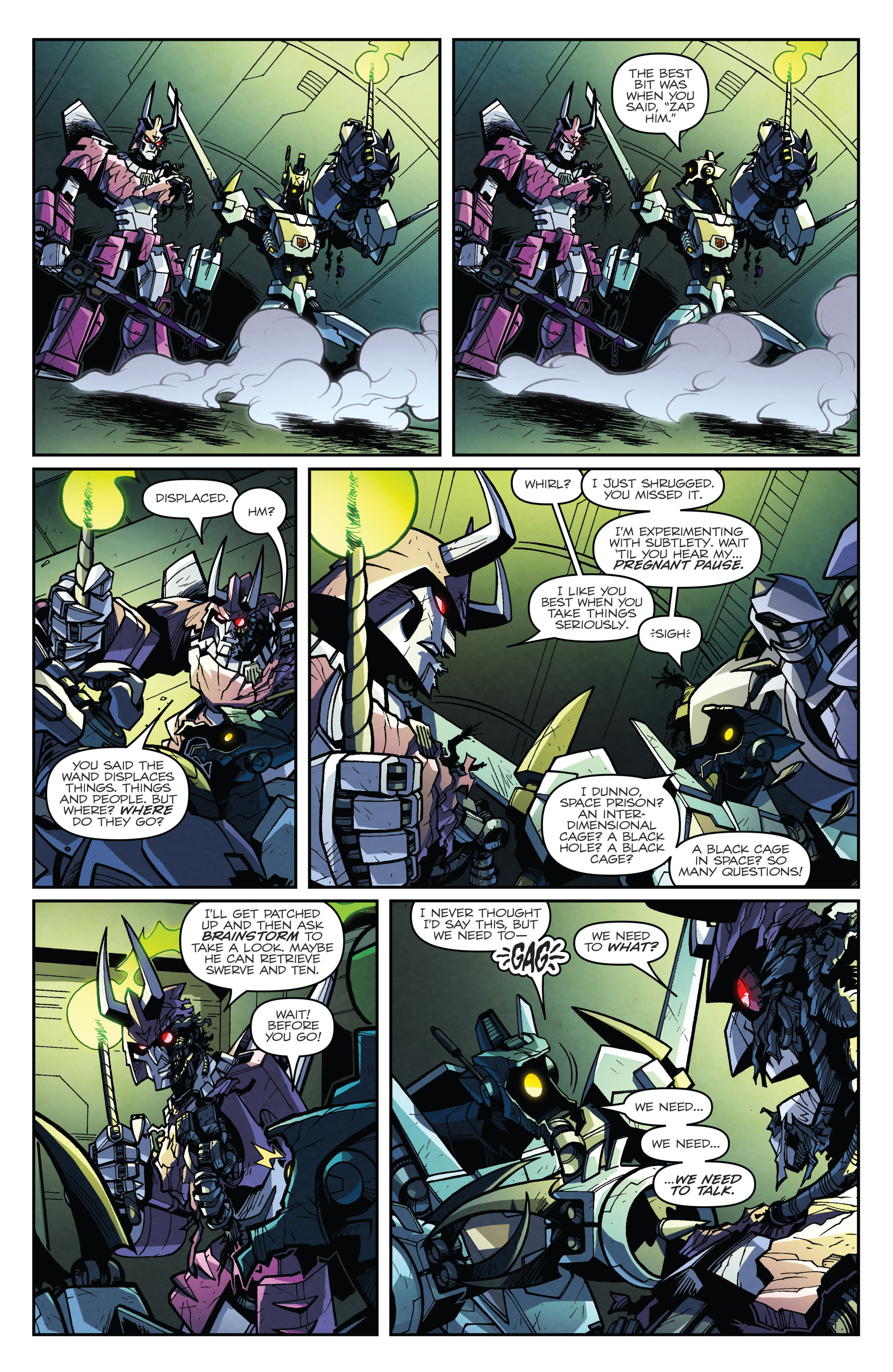 Read online Transformers: Lost Light comic -  Issue #4 - 7